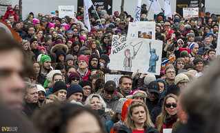 manif des femmes women's march montreal 32 | by Eva Blue