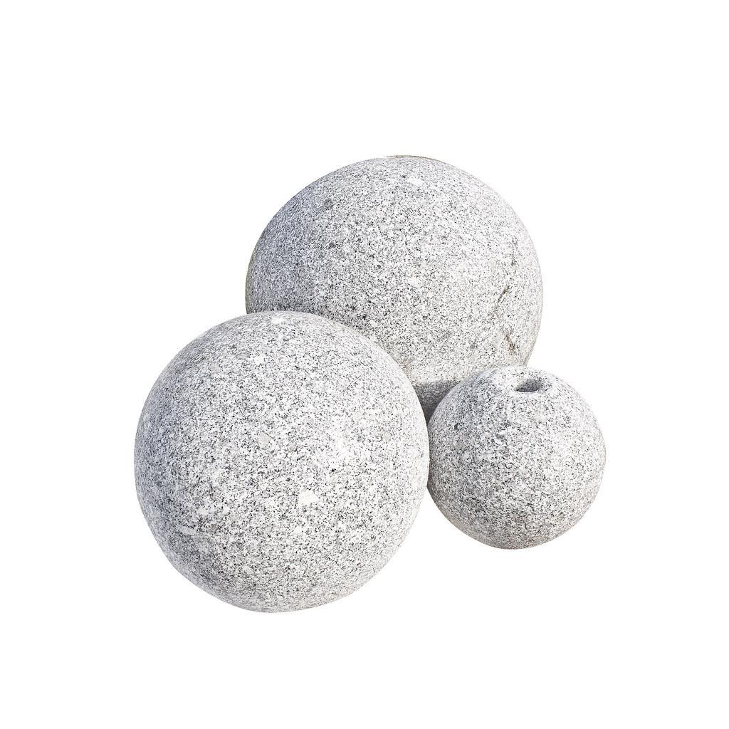 granit balls gebohrt granit grau freigestellt naturstein gro handel flickr. Black Bedroom Furniture Sets. Home Design Ideas