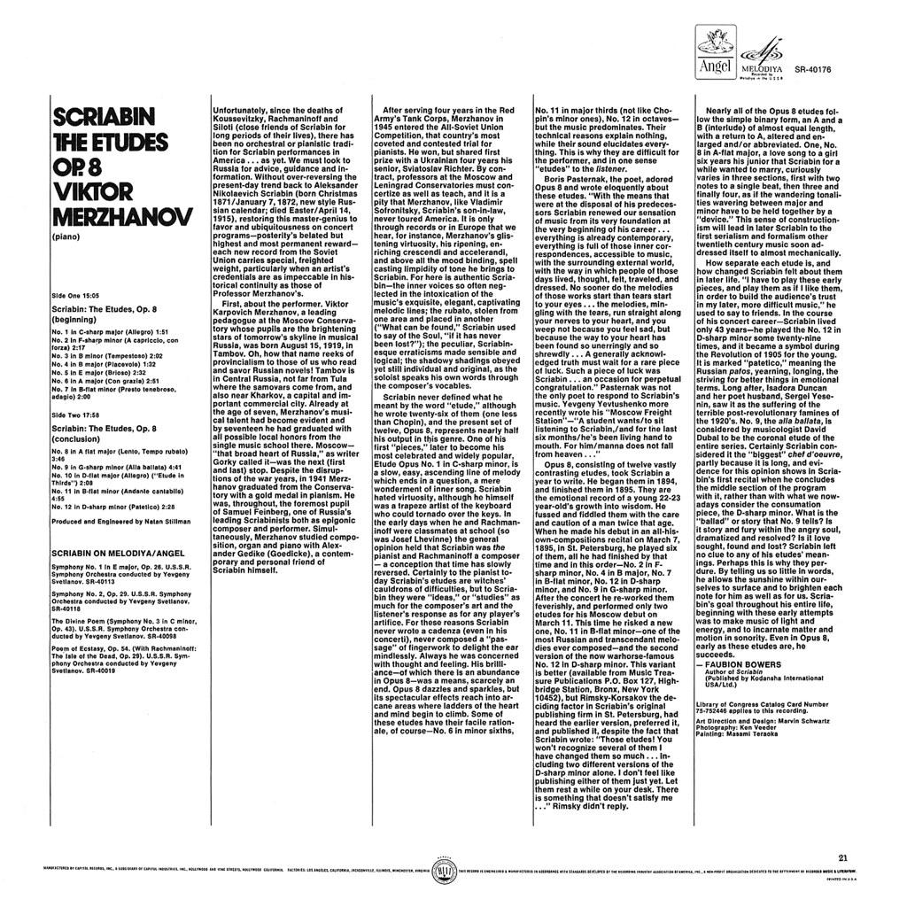 Alexander Scriabin - 12 Etudes