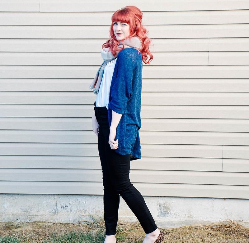 What I Wore: Gap Black Skinny Jeans