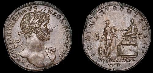 Hadrian Sestertius