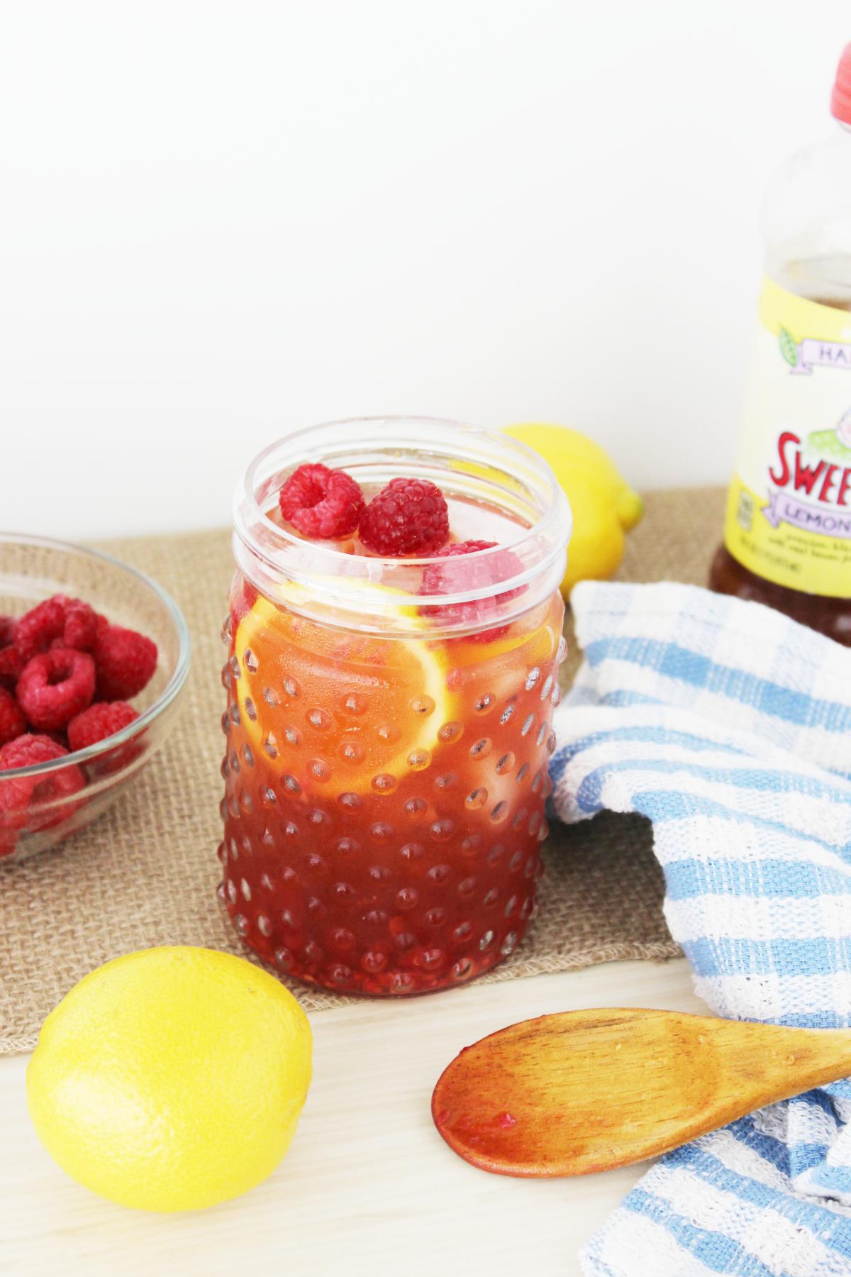 Raspberry Lemonade Sweet Tea