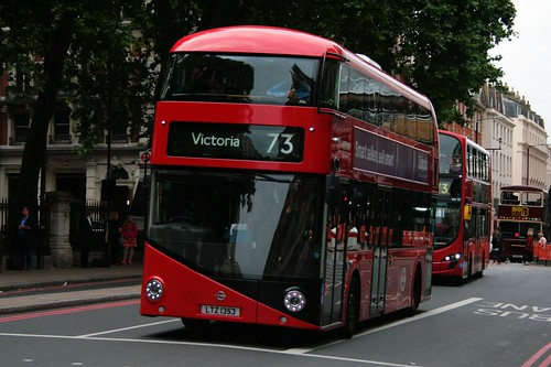 Arriva London LT353 on Route 73, Victoria