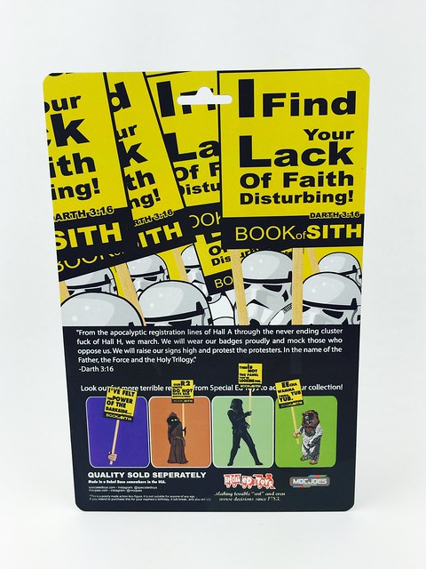 I Find Your Lack of Faith Disturbing! by Special Ed Toys