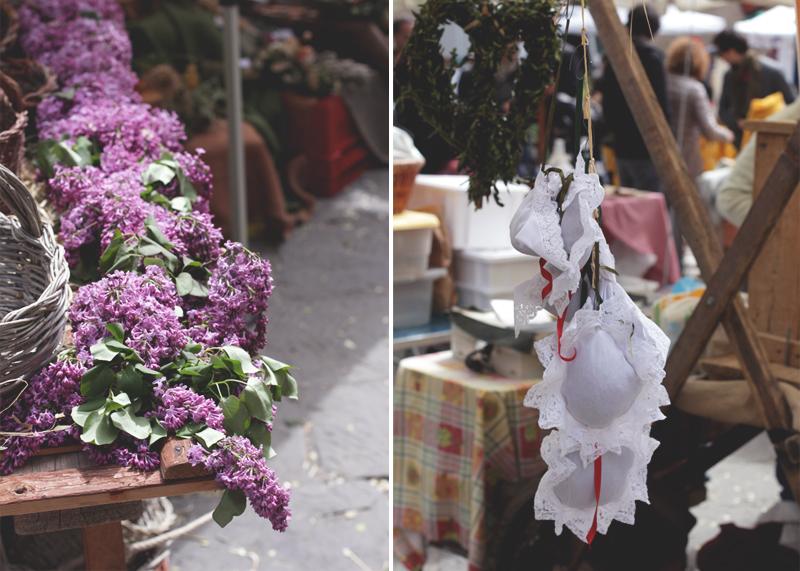 Piazza di Santa Spirito Markets Florence, Bumpkin Betty