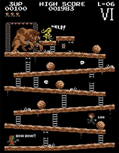 Donkey Kong mash-ups by BazNet - Star Wars The Return of the Jedi