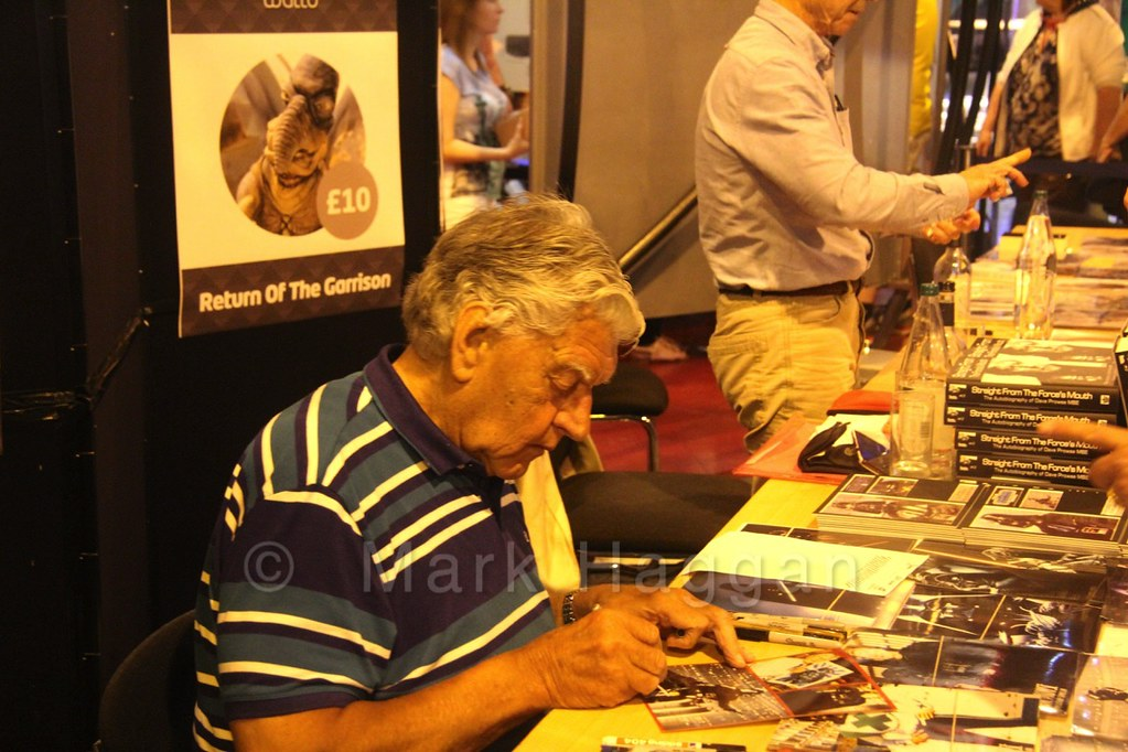 David Prowse at The Return of the Garrison Star Wars event at the National Space Centre, Leicester