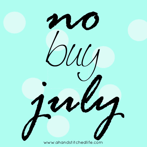 No Buy July