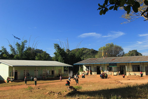 School, Put Tu Porkk village