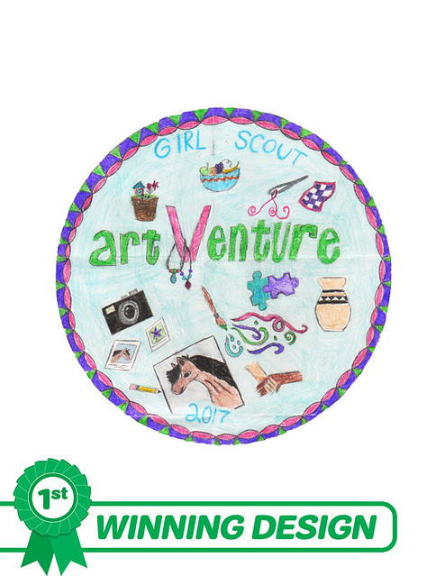 2017 artVenture Patch Design Entries