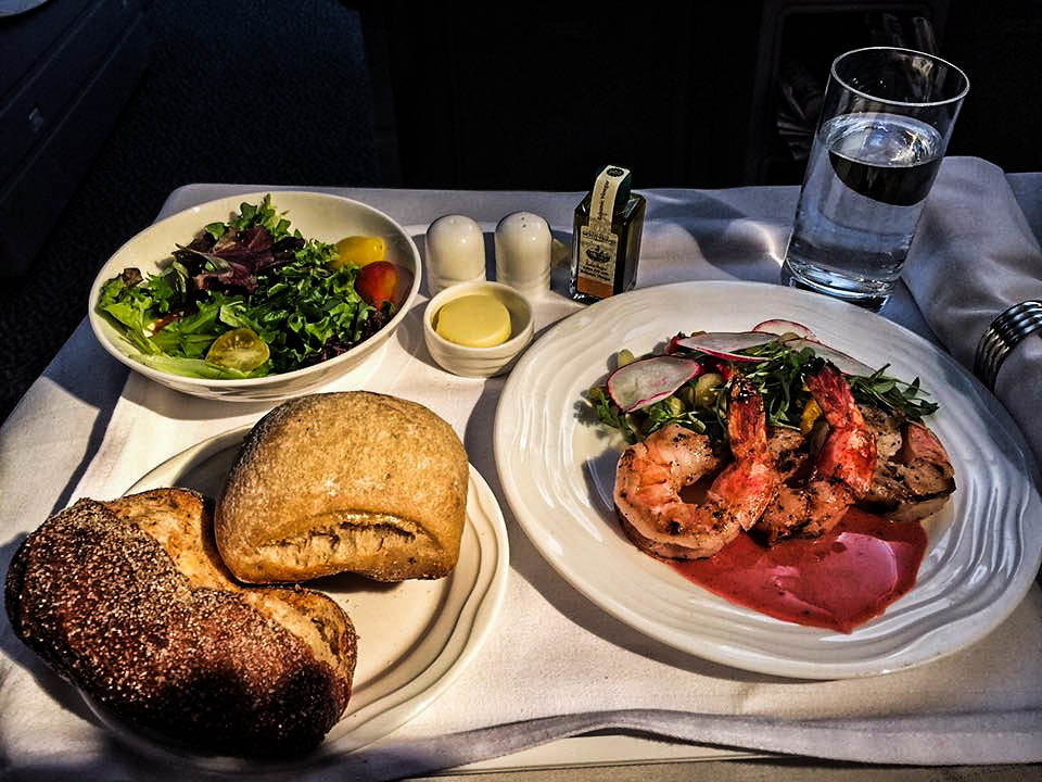 First Course On The First Meal On The Flight To Dubai On Emirates By Dave_hensley