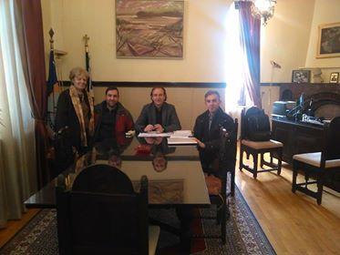 Συνάντηση Δ.Σ. γονέων 4ου Δημοτικού Σχολείου Ιωαννίνων με Δήμαρχο Ιωαννιτών