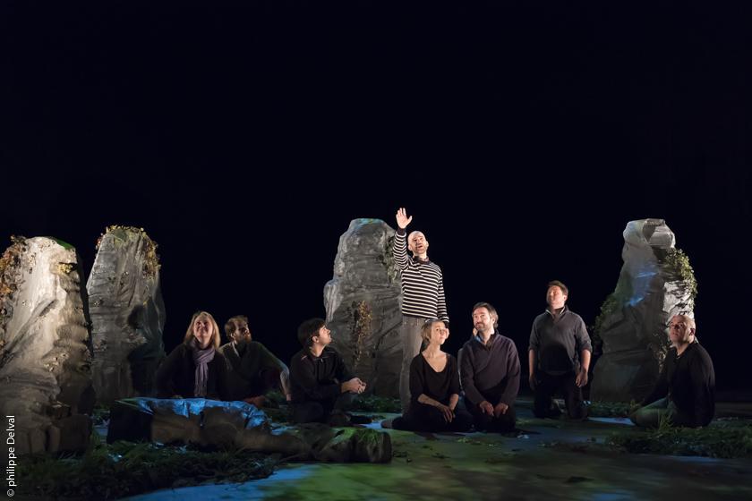 Répétitions de « L'Orfeo » en ce moment sur notre plateau !