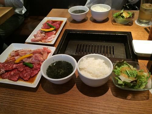 恵比寿 kintan で焼肉ランチ