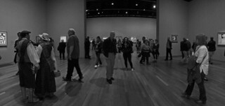 Friday Nights at the De Young Museum - National Galleries of Scotland crowd