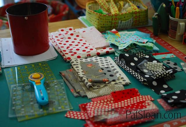 pat sloan birthday block quilt making
