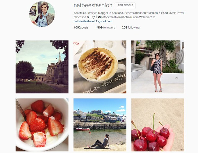 Natbeesfashion beautiful Instagram account