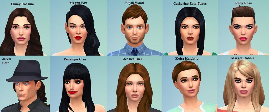 where to meet celebrities sims 3