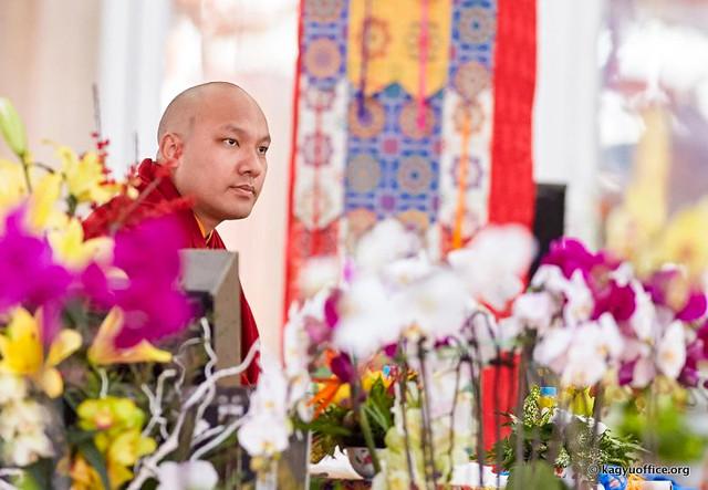20170114_法王噶瑪巴出席第34屆時輪金剛灌頂大法會