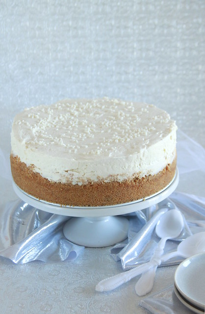 Quadruple Vanilla Bean Cheesecake