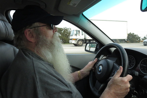 Dave driving