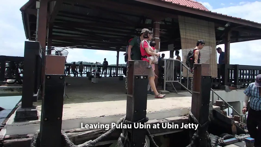 Leaving Pulau Ubin from Ubin Jetty