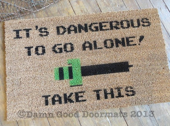 Damn Good Doormats - The Legend of Zelda