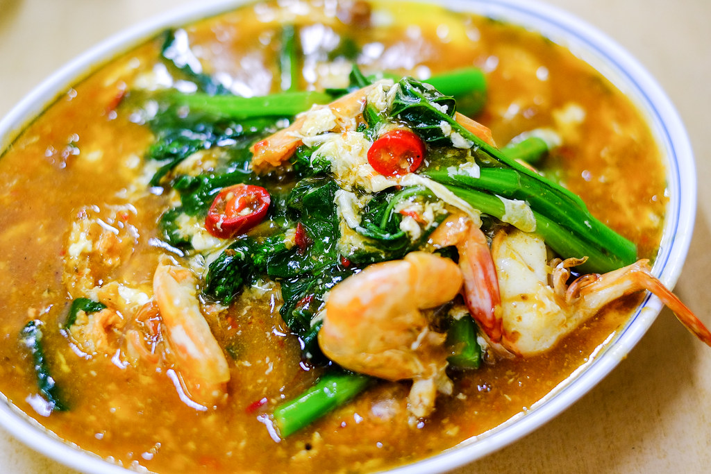 Kok Sen Restaurant's Big Prawns Hor Fun