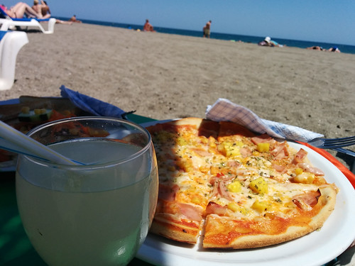 Beach drink service