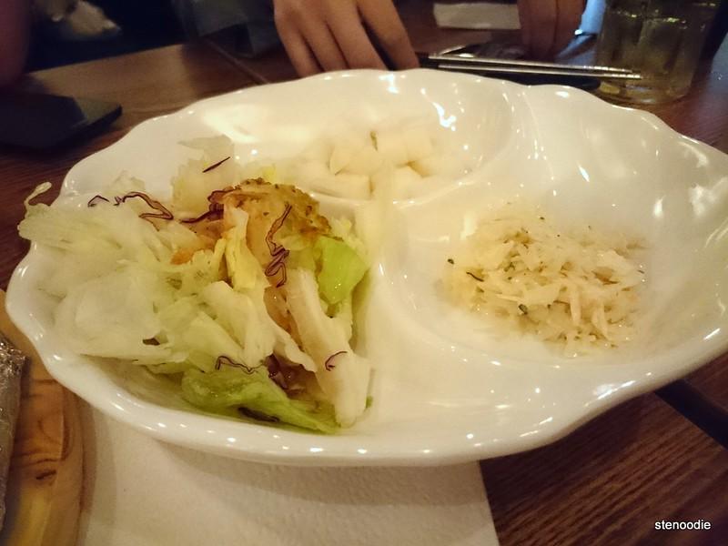 Salad, Radish, Coleslaw