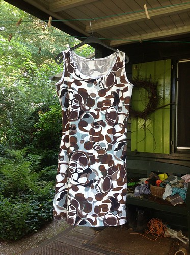 Started as Bantam shift dress.