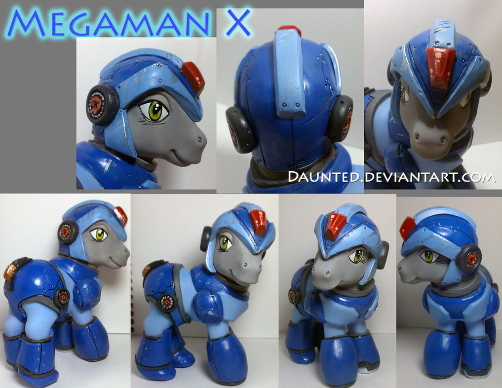 Custom pop culture My Little Pony by daunted - Megaman X