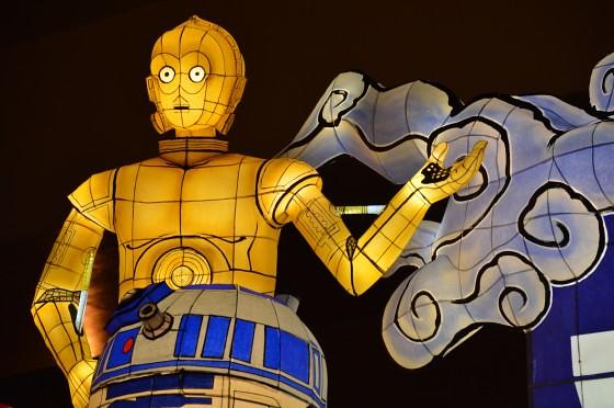 Aomori Nebuta Festival Japan - Star Wars Floats C-3PO & R2-D2