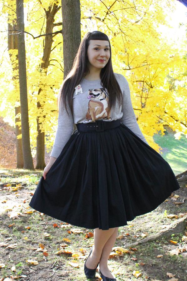 charlotte ronson bulldog sweatshirt