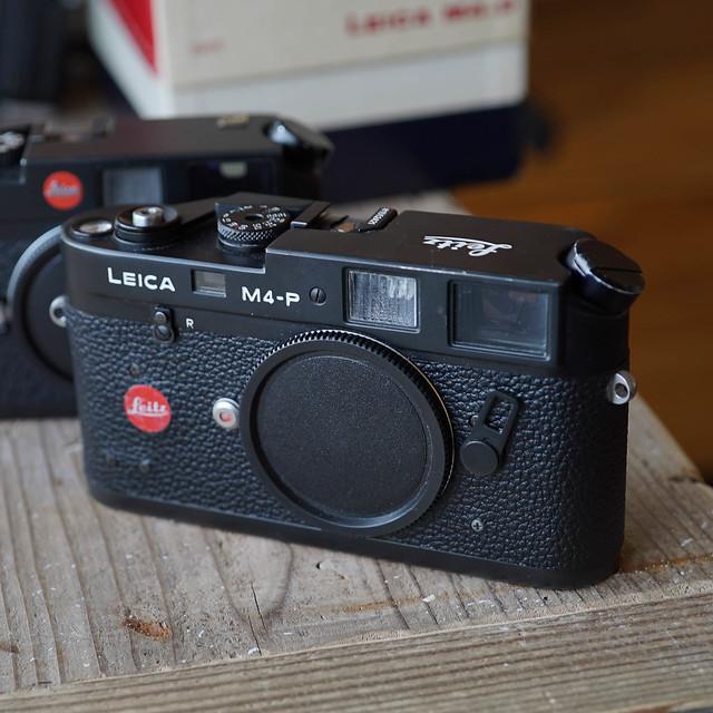 Leica M4-P Black Paint (Le0099)