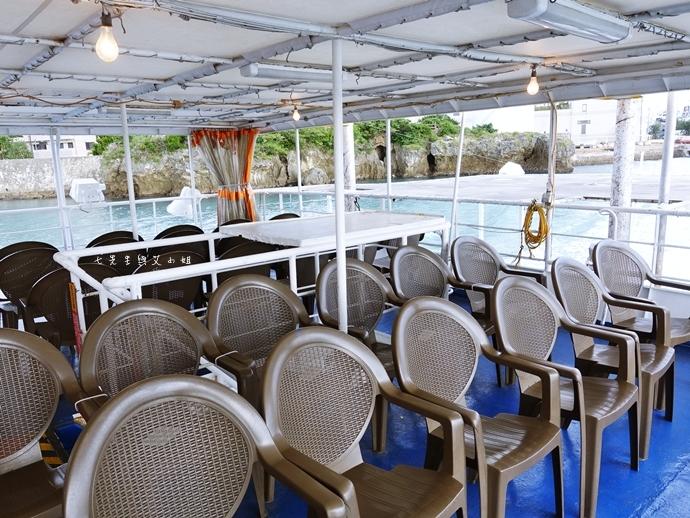 18 沖繩自由行 那霸一日遊 波上宮、波之上海灘、海底觀光遊覽船、白鯨號夕陽遊輪晚餐