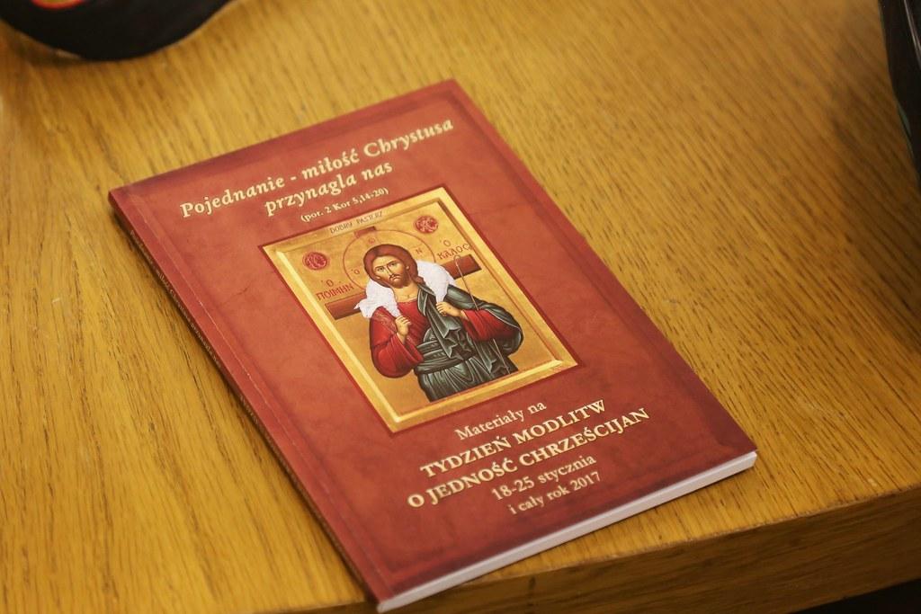 Konferencja przed Tygodniem Modlitw o Jedność Chrześcijan, 16 I 2017