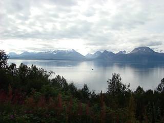 Uitzicht op schiereiland Lyngen 1
