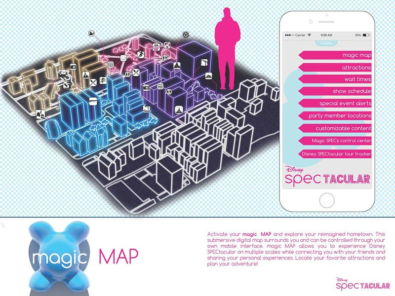 Disney SPECtacular_Magic Map