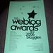 Weblog Awards Program