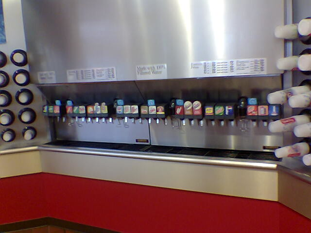 Soda fountain hook up