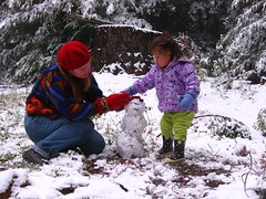First snowman | by MaoMaoChong and family