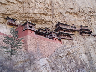 The Hanging Monastery, Heng Shan | by stevecadman