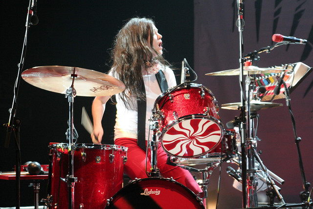 Meg & her Drum Kit | The White Stripes in concert at the ...