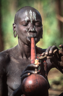 Surma woman with pipe | by foto_morgana