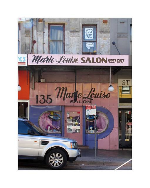 art deco hair salon enmore road marie louise hair salon a flickr. Black Bedroom Furniture Sets. Home Design Ideas