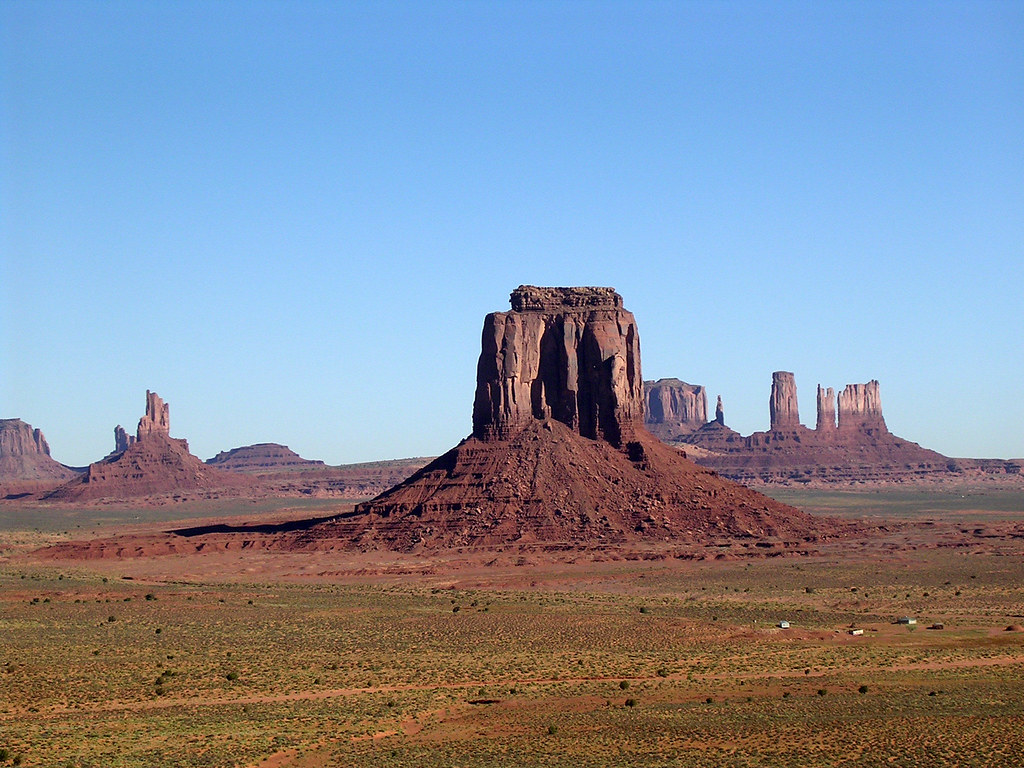 Monument Valley East Mitten Eagle Mesa Big Indian