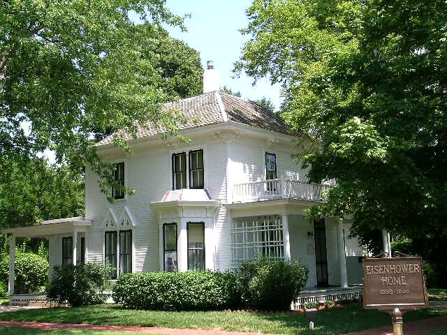 Eisenhower S Boyhood Home Abilene Kansas General