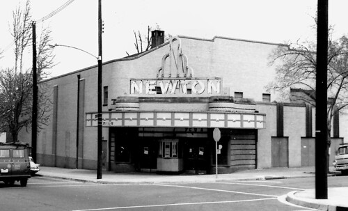 Newton Theater exterior, 1969 | by rllayman