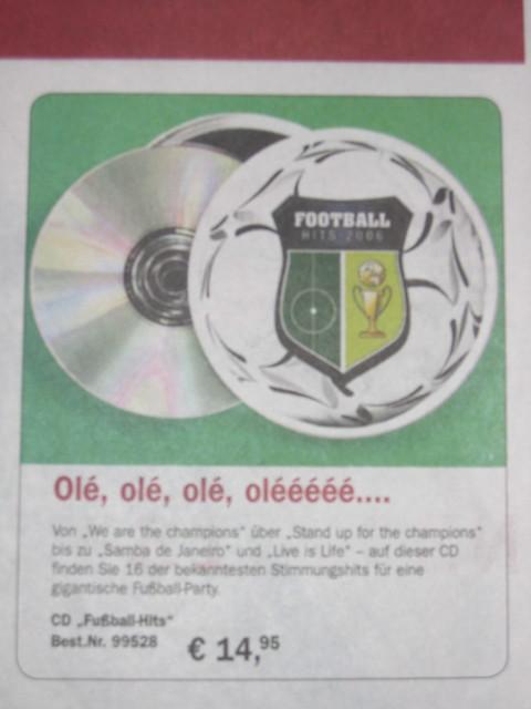 fussball cd